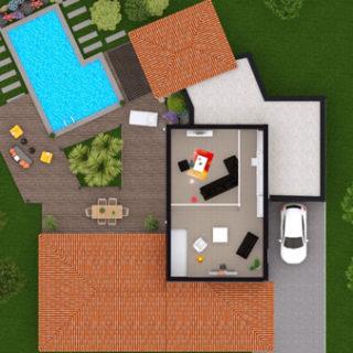 maison neuve plan virtuel