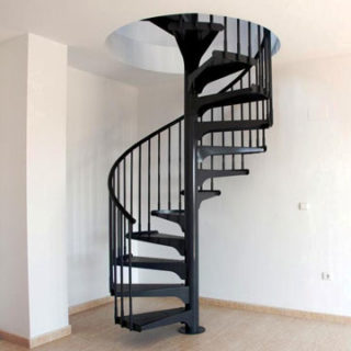 escalier moderne construction