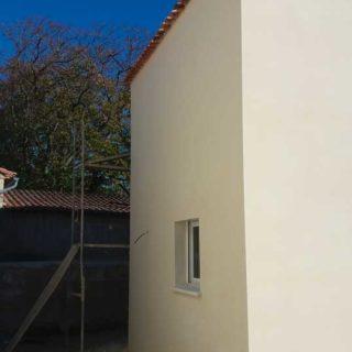 facade maison neuve Hérault