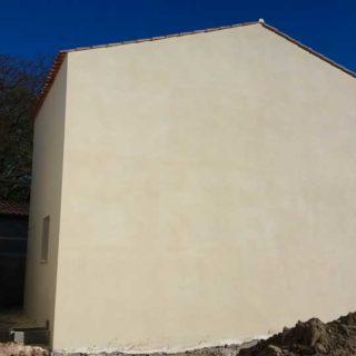 revêtement facade maison neuve